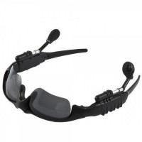 Sunglasses with Bluetooth Headset Sun Glasses headphone [Black]