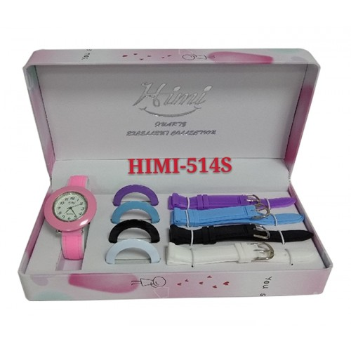 Himi 514S Color Changeable Strap & Dial Quartz Watch for Women