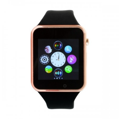 Artisan A01 Android Smart Watch with Rubber Band [Black]