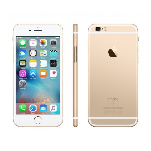 Apple iPhone 6S - 16GB, 4G LTE with FaceTime, (Gold)