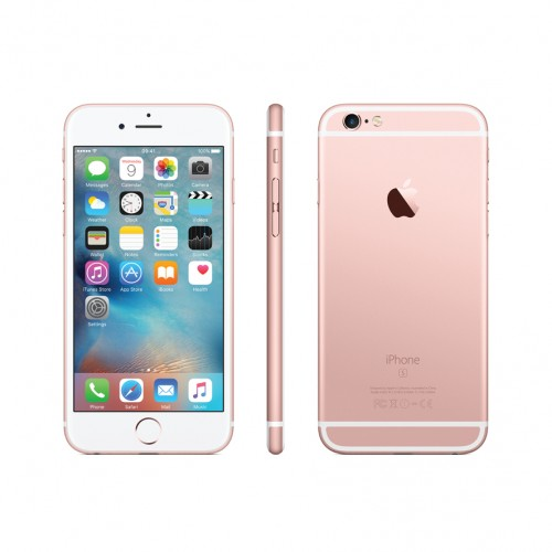 Apple iPhone 6S -16GB, 4G LTE with FaceTime, (Rose Gold)