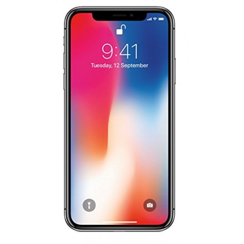 Apple iPhone X, 64GB, 4G LTE with FaceTime [Space Grey]