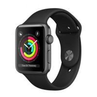 Apple Watch Series 3 - MQL12 - GPS - 42mm Space Gray Aluminum Case with Gray Sport Band
