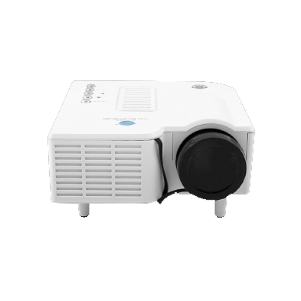BSNL A8 LED Projector With Remote Control [White]