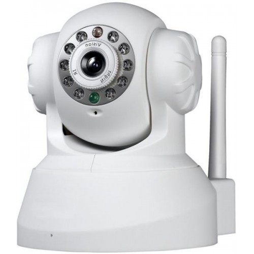 CCTV Wireless Wifi 720P HD H.264 P2P 1MP IP Network Home IR Security Camera P/T