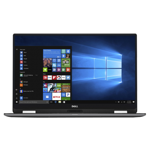 "Dell XPS 13 2-in-1 - 1062 - 13.3"" QHD Touch / Core i5 / 4GB RAM / 128GB SSD / Windows 10 [Silver]"