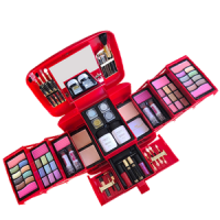 Kmes Miss Beauty Makeup Kit For Women - (Red)