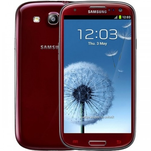 Samsung Galaxy S3, 32GB, 4G LTE, I9300 - Red
