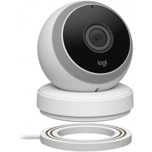 Logitech Circle Wireless Battery Powered Security Camera [Black]