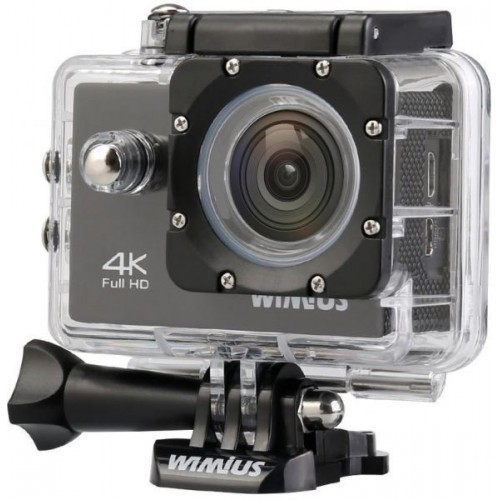 WiMiUS Action Camera Underwater Full HD 4K Wifi With HD 16 Megapixel,170 Wide Angle, 2.0'' LCD Screen + Free Floating Handle