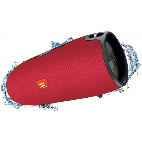 JBL Xtreme Splashproof Portable Speaker with Ultra-Powerful Performance (Red)