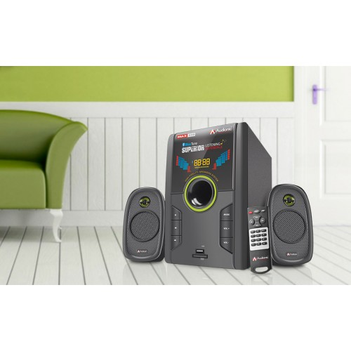 Audionic Blue Tune Max 350 2.1 Channel Speakers