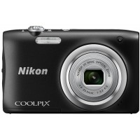 Nikon Coolpix A100 - 20 MP Compact Camera (Black)