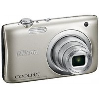 Nikon Coolpix A100 - 20 MP Compact Camera (Silver)