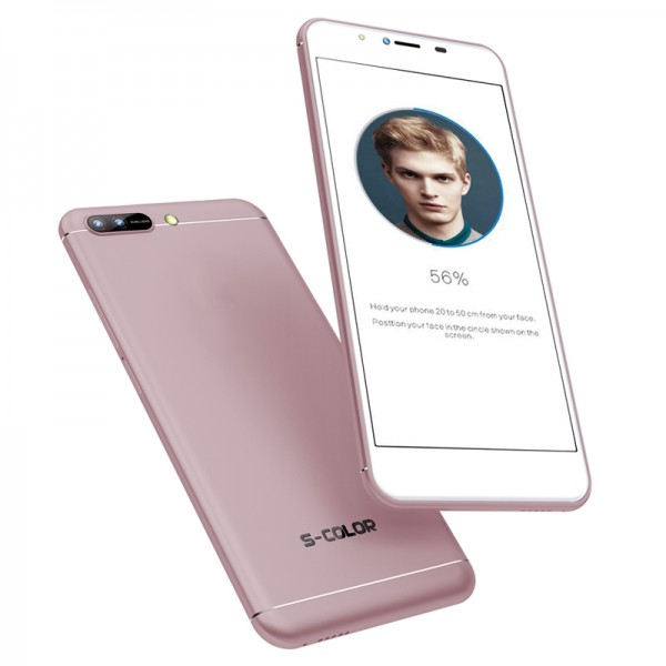 S-COLOR X2 - face unlock, 3GB RAM, 32GB Storage [Rose Gold]
