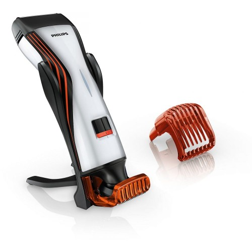 [Philips QS6141 Beard Trimmer Waterproof Shaver & Styler , Dual sided Trimmer, Cordless , Dual foil Shaver]