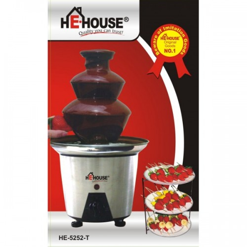 He-House Chocolate Fountain - HE-5252-T