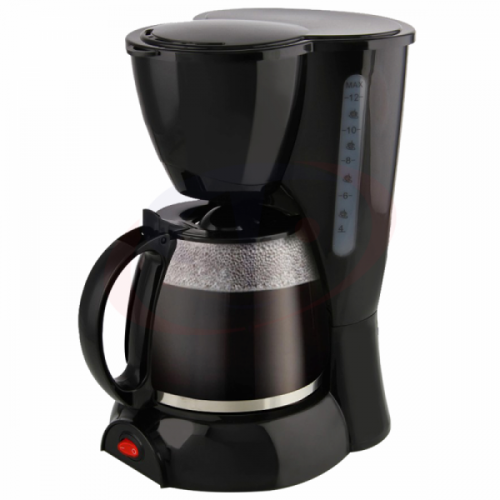He-House 1.2L Coffee Maker With Detachable Kettle -HE-6077-M