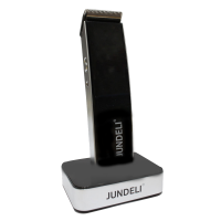 Jundeli Professional Chrome-plated Hair Trimmer - JDL-286 [black]