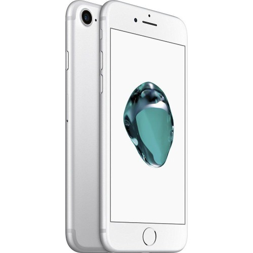 Apple iPhone 7 - 128GB, 4G LTE, with FaceTime (Silver)