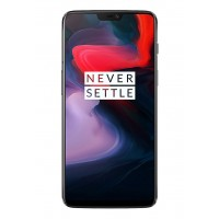 OnePlus 6 Dual Sim - 64GB, 6GB RAM, 4G LTE, Midnight Black