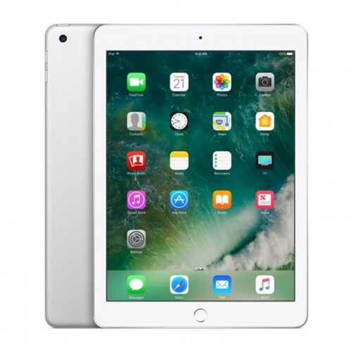 Apple iPad 9.7 2017 5th gen with FaceTime - 128GB Wifi + 4G LTE -Silver