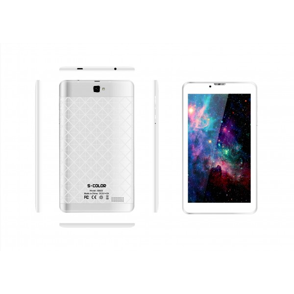S-color X6000, Dual SIM, 2GB, 16GB, 4G Android 7 0 [White]