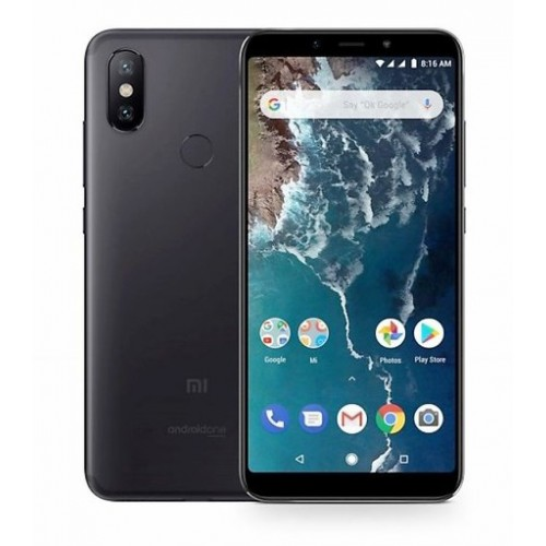 Xiaomi Mi A2 Dual Sim , Dual Camera, - 64GB, 4GB RAM, 4G LTE, Black [Global version]