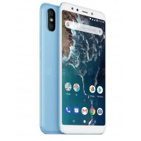 Xiaomi Mi A2 Dual Sim , Dual Camera, - 32GB, 4GB RAM, 4G LTE, Blue [Global version]