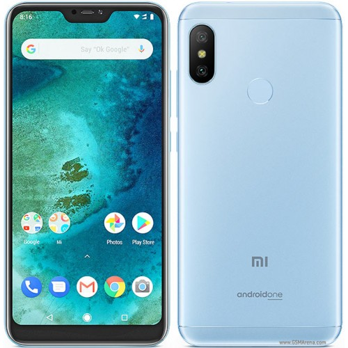 Xiaomi Mi A2 Lite Dual Sim , Dual Camera, - 64GB, 4GB RAM, 4G LTE, Blue [Global version]