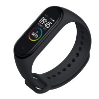Mi Smart Band 4- Fitness Band, Up-to 20 Days Battery Life, Color AMOLED Full-Touch Screen, Waterproof with Music Control and Unlimited Watch Faces