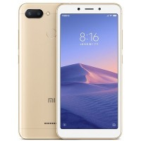 Xiaomi Redmi 6 Dual Sim, 64GB, 3GB RAM, 4G LTE, Gold [International version]