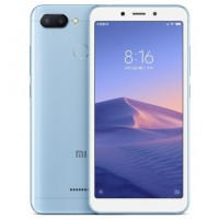 Xiaomi Redmi 6 Dual Sim, 64GB, 3GB RAM, 4G LTE, Blue [International version]